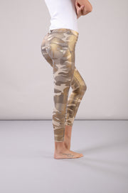 (WRUP4RS922-Z64MG) CAMOUFLAGE ANKLE-LENGTH REGULAR-RISE WR.UP® SUPER SKINNY PANTS