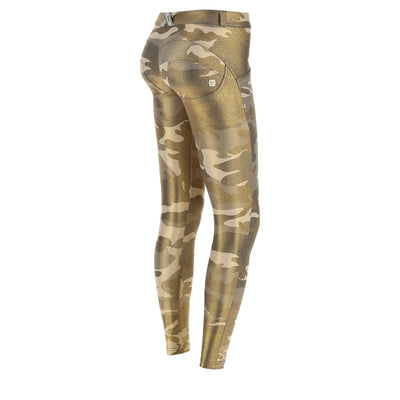 Freddy Camouflage Ankle-Length Regular-Rise Wr.Up® Super Skinny Pants