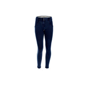 (WRUP5RF004-J29B) ANKLE-LENGTH WR.UP® SHAPING SKINNY JEANS WITH BLACK LATERAL BANDS