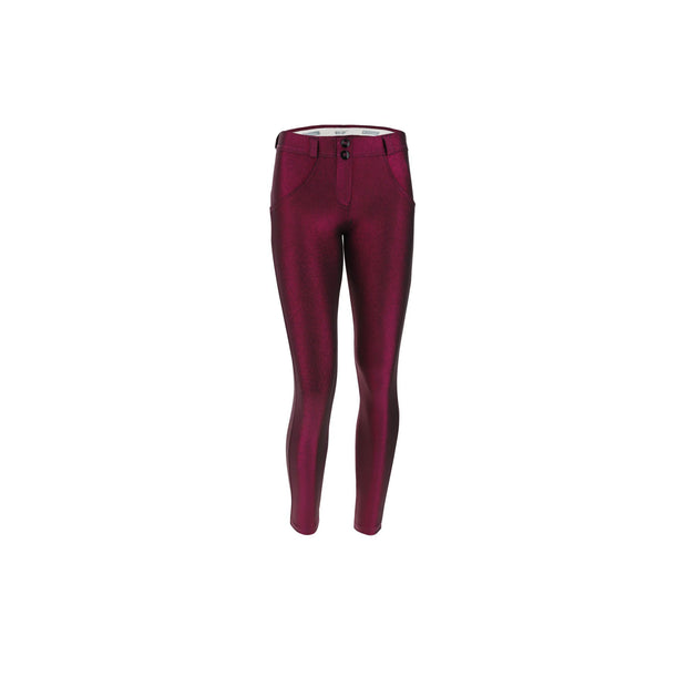 (WRUP5RF014-F97) SCULPTING WR.UP® TROUSERS IN METALLIC JERSEY