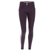 (WRUP5RF019-E41) ANKLE-LENGTH SHAPING WR.UP® SKINNY TROUSERS WITH GLITTER BANDS
