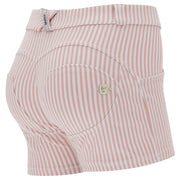 (IT_WRUP9RS109_P34W) Pastel stripe WR.UP® shaping shorts