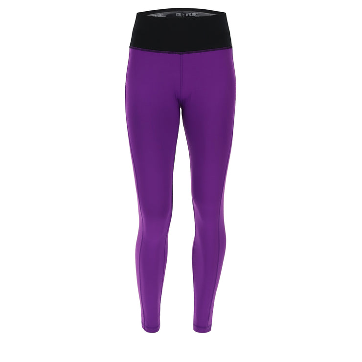 (WS5RC004B-E52N)COLOUR-BLOCK SHAPING WR.UP® FITNESS LEGGINGS IN D.I.W.O.® FABRIC