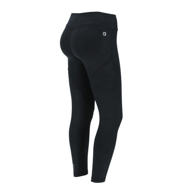 (WS5RF001-NG10) CAMOUFLAGE ANKLE-LENGTH SHAPING WR.UP® SPORT LEGGINGS IN D.I.W.O.® FABRIC