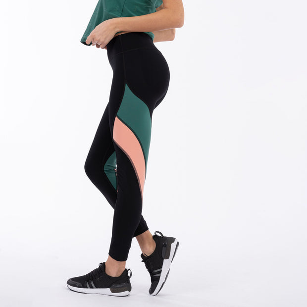 (WS5RF004-NVP) WOMEN'S ANKLE-LENGTH WR.UP® SPORT YOGA LEGGINGS - 100% MADE IN ITALY