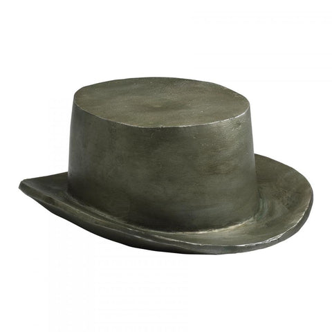 "Top Hat Game Token Replica 3.5""H in Cast Iron with Pewter Finish"