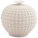 "Diana Ceramic Vase 8.25"" height x 8.25"" diameter"