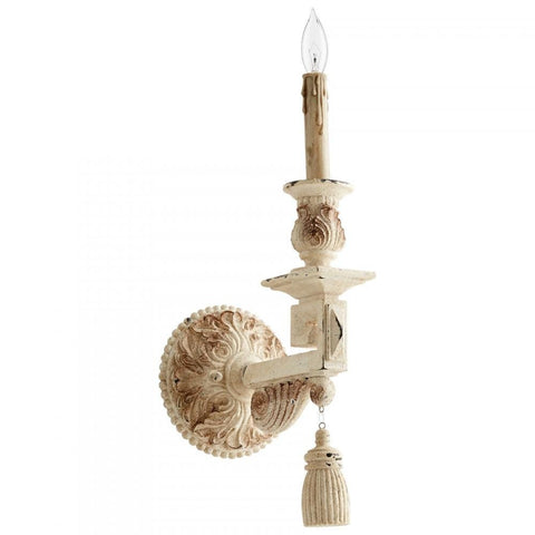 Brenton Wall Sconce in Persian White Finish