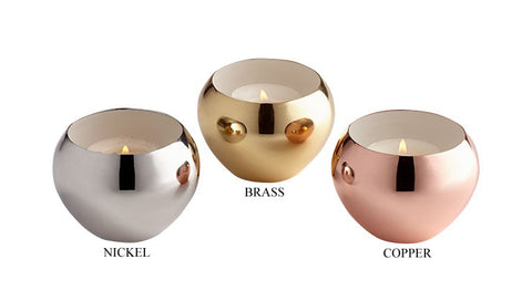 Candle Cup in 3 Colors