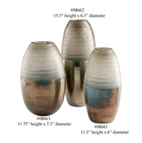 Around The World Glass Vase, Available in 3 Sizes