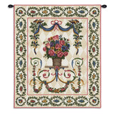 Floral Majesty Art Tapestry Wall Hanging