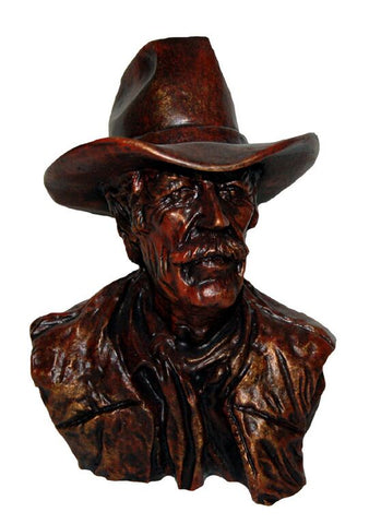 Rancher Bust Master Carvers Reproduction in 60 Colors