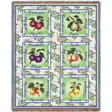 Alsacian Fruit Basket Art Tapestry Throw
