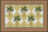 Colonial Palms Art Tapestry Placemat, Set of 4