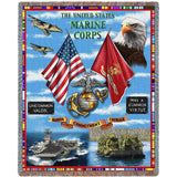 The United States Marine Corps Honor Commitment Courage Throw