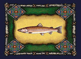 Fish Lodge Art Tapestry Placemat, Set of 4