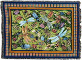 Bugs Life Art Tapestry Throw