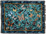 Butterfly Dance Art Tapestry Throw