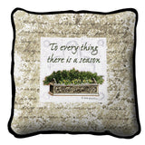 To Everything There Is A Season Art Tapestry Pillow