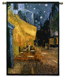Van Gogh Cafe Terrace at Night Art Tapestry Wall Hanging