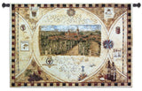 Hilltop Winery Art Tapestry Wall Hanging