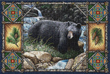 Bear Lodge Art Tapestry Placemat, Set of 4