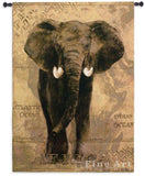 African Voyage I Art Tapestry Wall Hanging