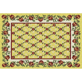 Apple Season Art Tapestry Placemat, Set of 4
