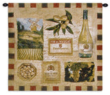 From the Wine Land II Art Tapestry Wall Hanging