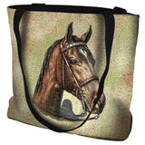 Tennessee Walking Horse Portrait Art Tapestry Tote Bag