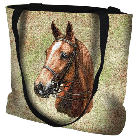 American Saddle Horse Portrait Art Tapestry Tote Bag