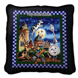 Hey Diddle Diddle the Cat and the Fiddle Art Tapestry Pillow