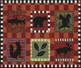 Adirondack Lodge Art Tapestry Placemat, Set of 4