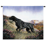 German Shorthaired Pointer Dog Art Tapestry Wall Hanging