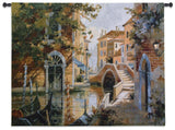 Venice Canal Art Tapestry Wall Hanging