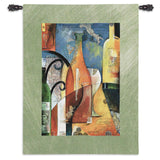 Vino Art Tapestry Wall Hanging