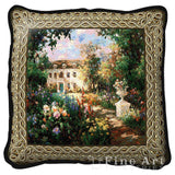 Aix En Provence Art Tapestry Pillow