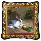 Pet Rabbit Art Tapestry Pillow