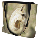 Welsh Pony Portrait Art Tapestry Tote Bag