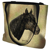 Morgan Horse Portrait Art Tapestry Tote Bag