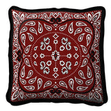 Bandana Pattern Art Tapestry Pillow