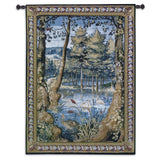 Verdure with Wildlife Art Tapestry Wall Hanging
