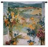 Tuscany Floral Art Tapestry Wall Hanging in 2 Sizes