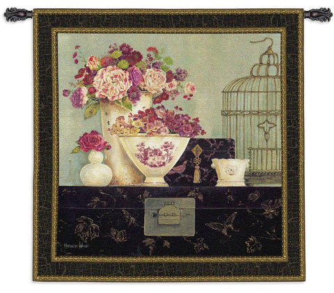 Blossoms Art Tapestry Wall Hanging