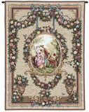 Courtship Art Tapestry Wall Hanging
