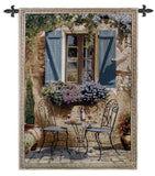 Patio Ambiance Art Tapestry Wall Hanging