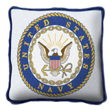 United States Navy Art Tapestry Pillow