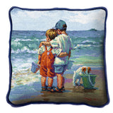 Summer Daze by Lucelle Raad Art Tapestry Pillow