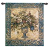 Tuscan Urn Arrangement Art Tapestry Wall Hanging
