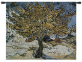 Van Gogh's The Mulberry Tree Art Tapestry Wall Hanging
